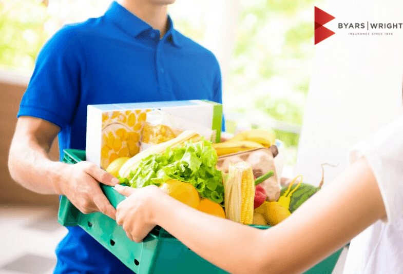 grocery delivery service insurance